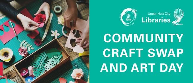 Community Craft Swap and Art Day