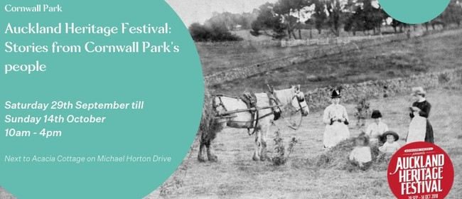 Auckland Heritage Festival: Stories from Cornwall Park