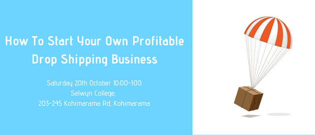 How to Start Your Own Profitable Drop Shipping Business: CANCELLED