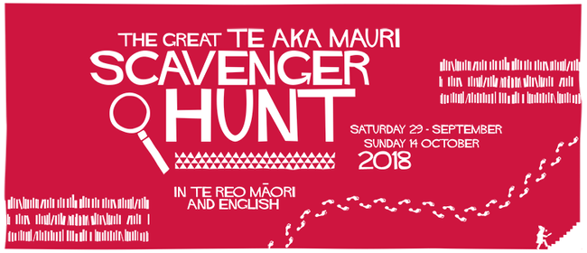 The Great Te Aka Mauri Scavenger Hunt