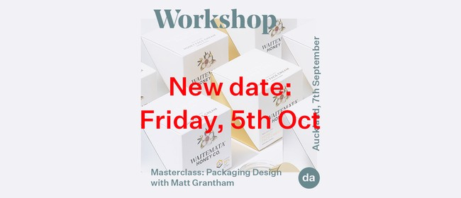 Auckland: DA Masterclass - Packaging Design with Matt Granth