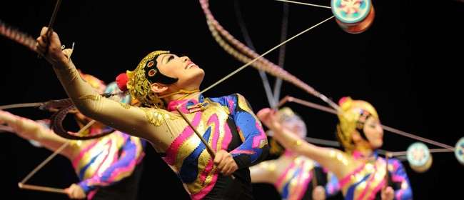 Touch – The China National Acrobatics Troupe Tour in NZ