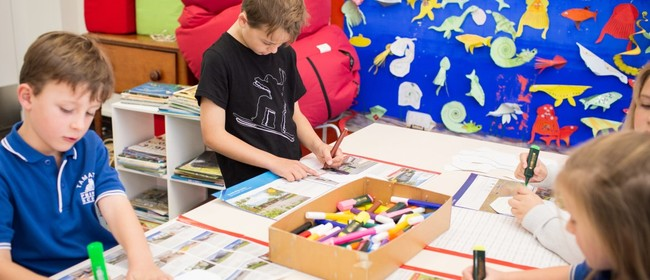 School Holiday Programme - Painting Kowhaiwhai Patterns
