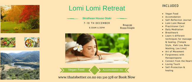 Kahuna (Hawaiian Lomi Lomi) Massage Practitioner Lvl 1 & 2