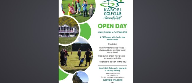 Karori Golf Club Open Day
