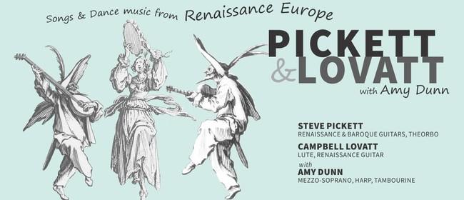Songs & Dance Music From Renaissance Europe