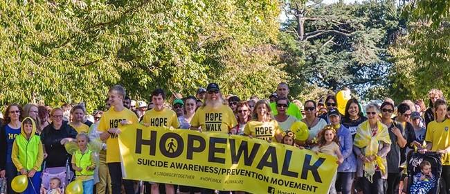 HopeWalk Manawatū in The Esplanade: Stronger Together