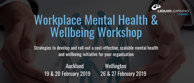 Workplace Mental Health & Wellbeing Workshop