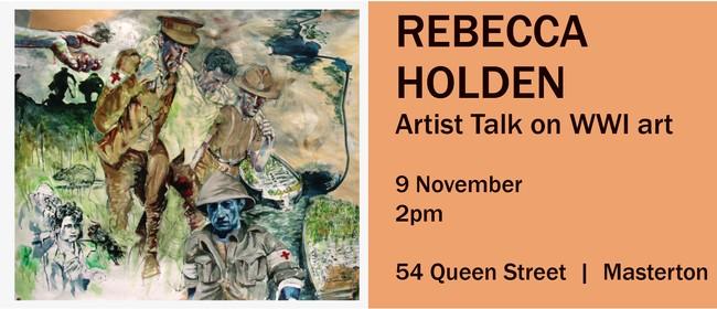 Armistice Day Celebration - Rebecca Holden - Artist Talk