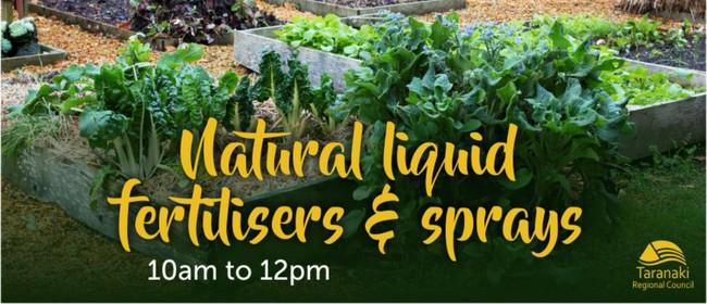 Natural Liquid Fertilisers and Sprays