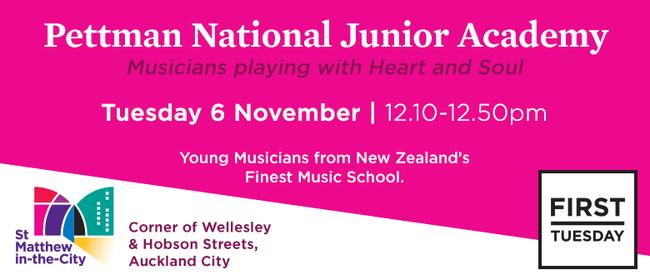 First Tuesday Concert - Pettman National Junior Academy