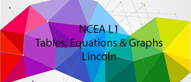 NCEA L1 Tables, Equations and Graphs