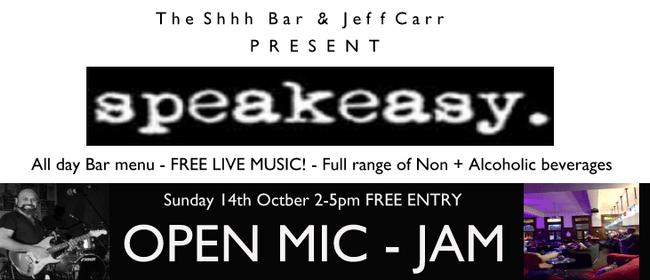 Shhh Bar's Sunday Burger Jam – Open Mic