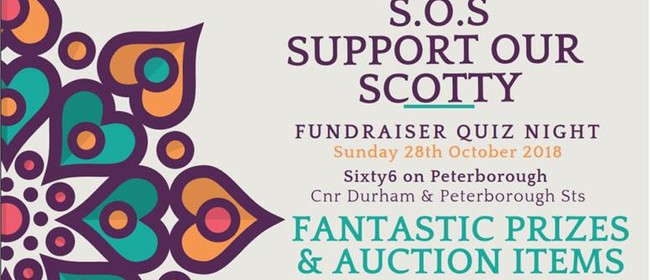 SOS: Support Our Scotty - Fundraiser Quiz Night