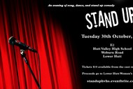 Stand Up - An Evening of Song, Dance and Stand Up Comedy