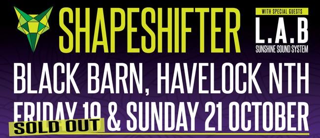 Shapeshifter with L.A.B & Sunshine Sound System