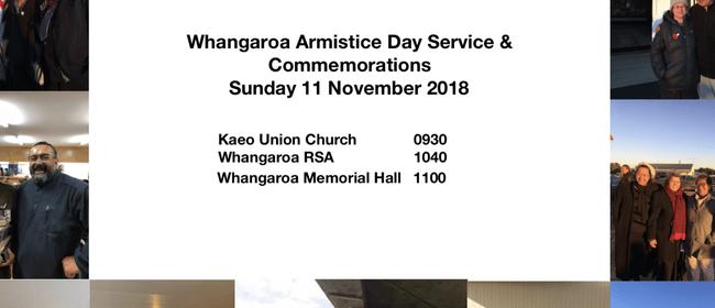 Whangaroa Armistice Day Parade & Service