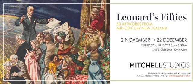 Leonard's Fifties: 50 Artworks from Mid-Century New Zealand