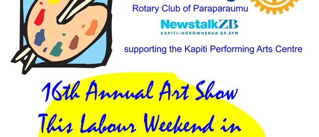 Paraparaumu Rotary Art Show Opening Evening