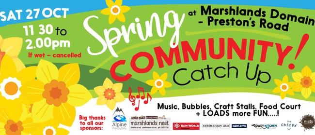Spring Community Catch-Up