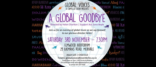 Global Voices a Cappella Choir - A Global Goodbye