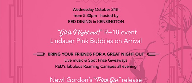 Pink Ladies Canapes & Cocktail Event