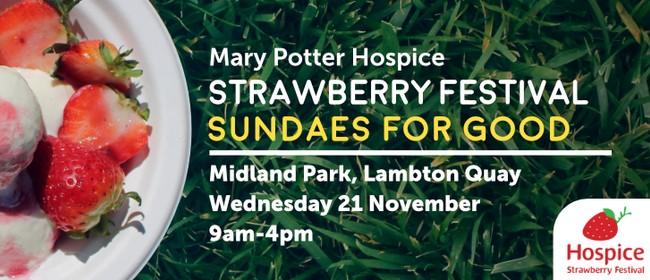 Mary Potter Hospice Strawberry Festival 2018