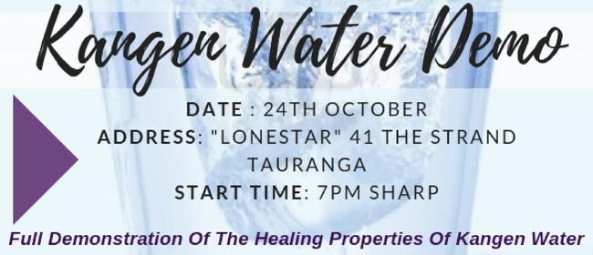 Kangen Water Demonstration