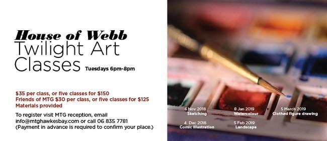 House of Webb - Twilight Art Classes