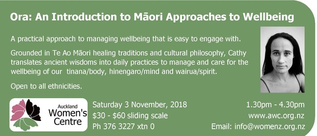 Ora: Introduction to Māori Approaches to Wellbeing: SOLD OUT