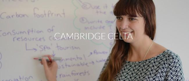 Cambridge CELTA Course: SOLD OUT