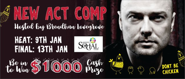 Mount Comedy Fest: New Act Comp