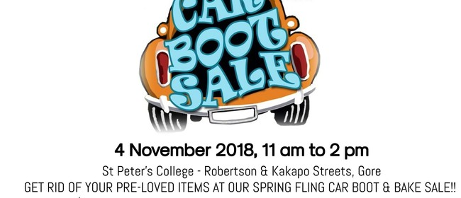 Car Boot and Cake Sale