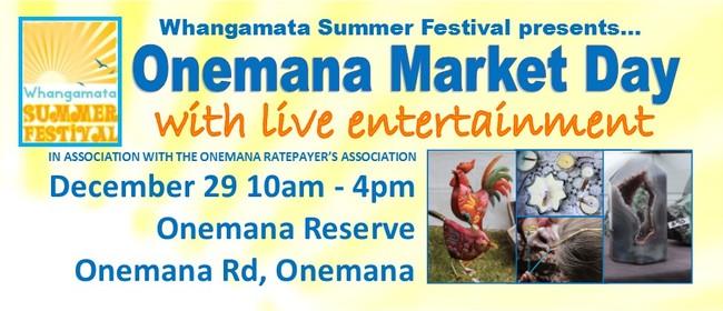 Onemana Market Day