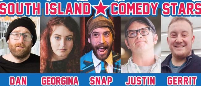 South Island Comedy Stars In Invercargill!