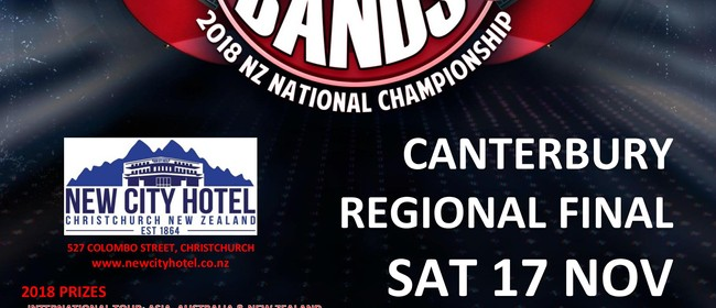 Battle of the Bands 2018 National Championship - Chch Final
