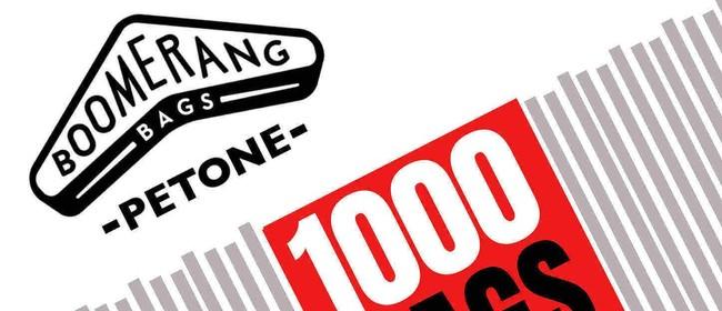 1000 Boomerang Bags Petone Celebration