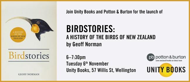 Launch - Birdstories by Geoff Norman