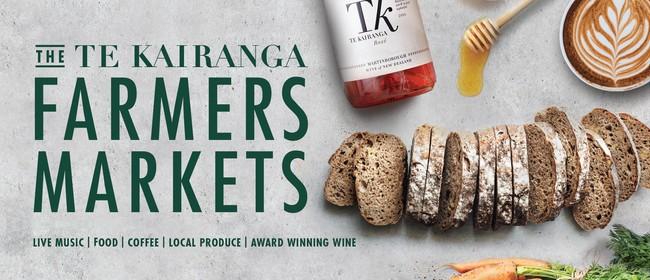 Te Kairanga Farmers Market: CANCELLED
