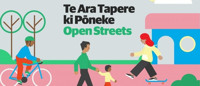 Te Ara Tapere ki Pōneke (Open Streets in Wellington)