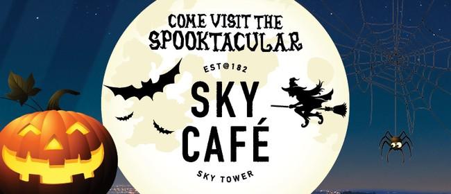 Halloween At the Spooktacular Sky Cafe