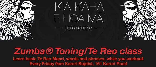 Zumba Toning & Learn Te Reo Maori