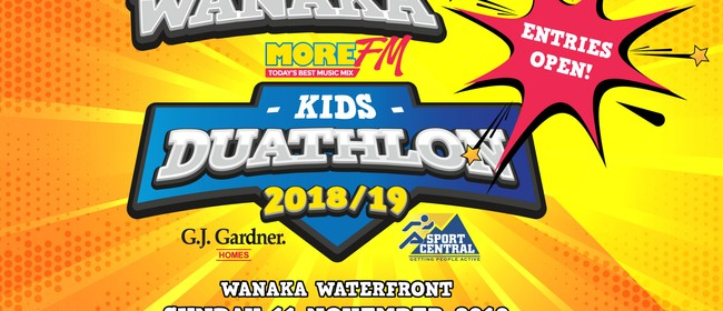 More FM Wanaka Kids Duathlon