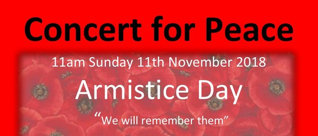 Armistice Concert for Peace Presented by Music Canterbury