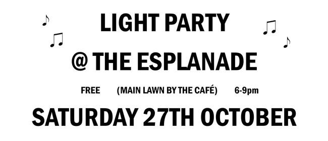 Light Party In the Esplanade