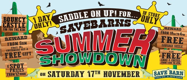 Saddle Up for Save Barn - Summer Showdown!