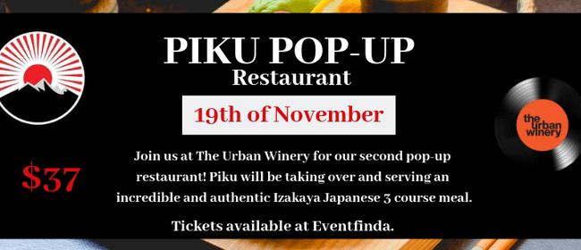 Piku Pop-Up Restaurant at The Urban Winery