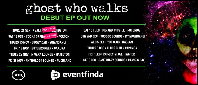 Ghost Who Walks – Debut EP Tour