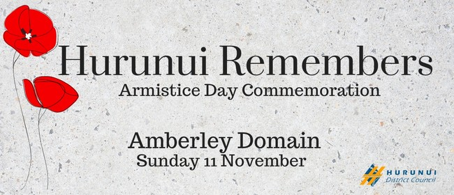 Hurunui Remembers - Armistice Day Commemoration