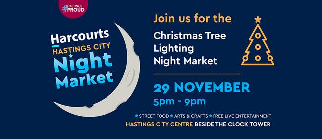 Harcourts Hastings City Christmas Tree Lighting Night Market